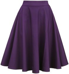 Shirley High Waist Full Circle Plain Skirt