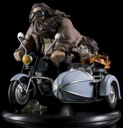 Figurine Q-Pop MAX (Diorama) Harry Potter Et Rubeus Hagrid