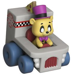 Super Racers  - Golden Freddy Vinylfiguur