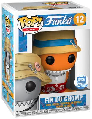 Fantastik Plastik - Fin Du Chomp (Funko Shop Europe) Vinylfiguur 12